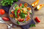 La salade rafraîchissante à la façon marocaine