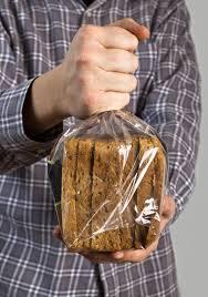 sachet avec du pain